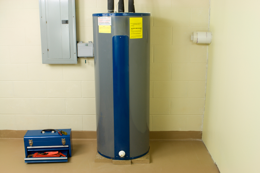 The hot water heater