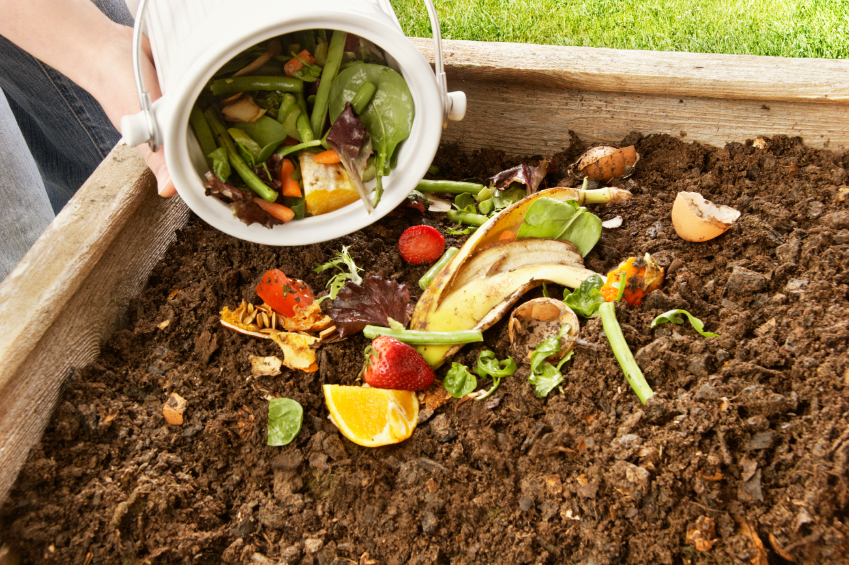 Turning landscaping waste into compost