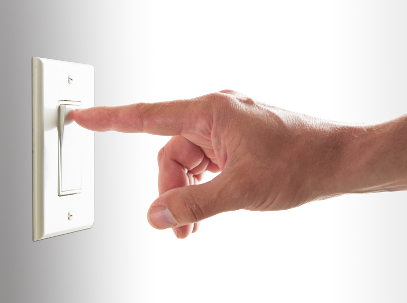 How to install an electrical switch