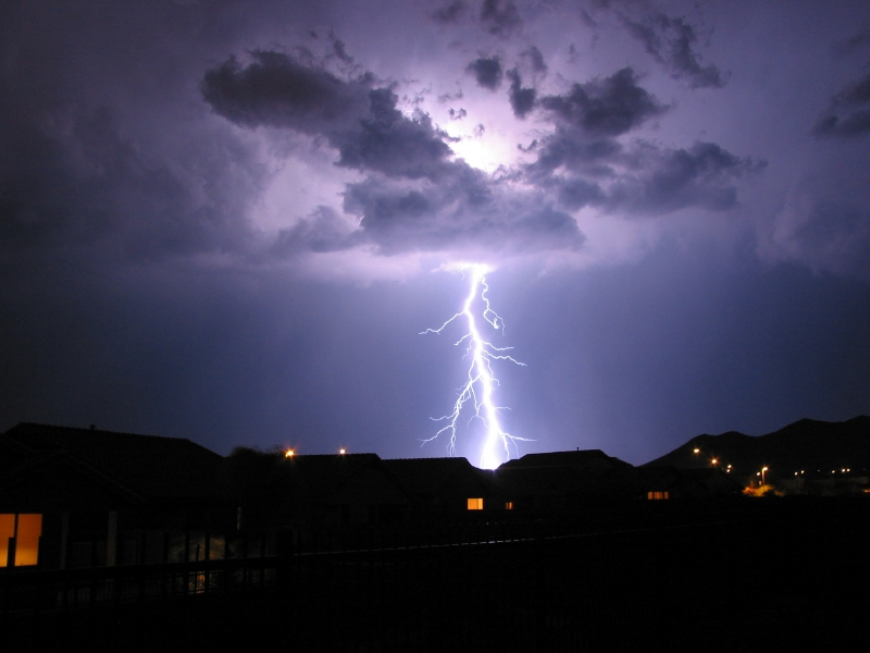 Summer storms: electrical safety tips