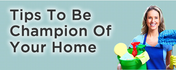 Finishing four tips to be champion of your home