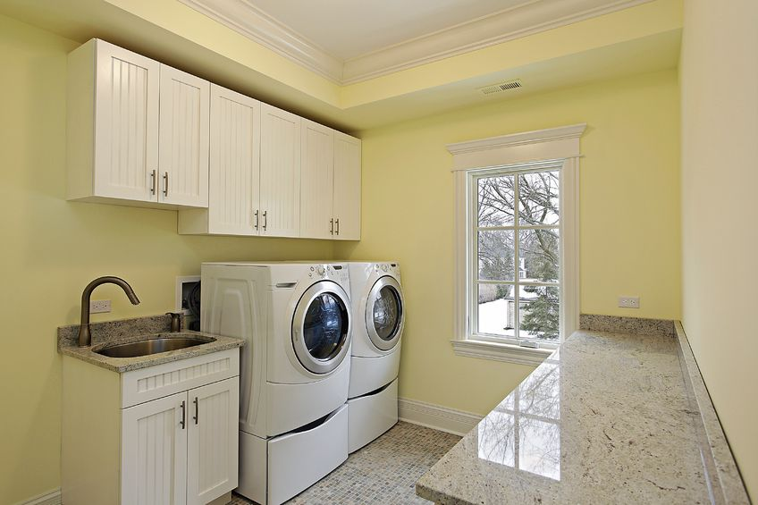 Transforming your laundry room from dungeon to dandy