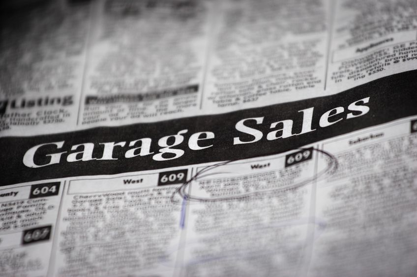 Tips for buying appliances at garage sales